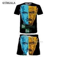 Breaking Bad T Shirt Men women 3D Printed T-shirts Casual Harajuku Style Tshirt Streetwear Tops Summer Beach Pants Suit Men's Tracksuits