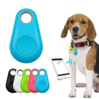 Pet Smart GPS Tracker Mini Anti-Lost Waterproof Bluetooth Locator Tracer For Dog Cat Kids Car Wallet Key Collar Accessories Apparel