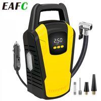 Pompa di gonfiatore della gomma della gomma digitale 12V Portable Electric Air Manometro 120 PSI Auto spegnimento con luce a LED gonfiabile