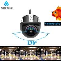 Smartour Chanall Fool Вид сзади Камера CCD Рыба глаза Ночное видение Водонепроницаемая IP67 Трек Автомобиль Реверсив Резервное копирование Камеры Универсальный