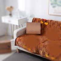 2021 Cobertor de Flanela de Alta Qualidade 150 * 200Cmspring e Verão Moda Maré Conforto Sofá com ar condicionado
