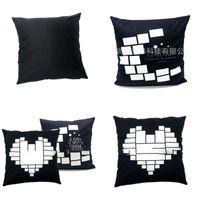Pillow Case Sublimation Blank slip Love Heart Simplicity Men Women s Cover Moon Star Household Arrival 8ex P2