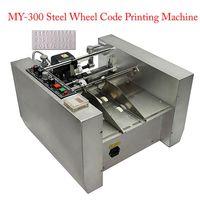Güç Aracı Setleri MY-300 Expiry Tarih Yazıcı Çelik Tekerlek Kodu Baskı Makinesi Etkisi veya Katı Mürekkep Kodlama 230W