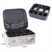 Marble Print Waterproof Cosmetic Bags Women Travel Make Up Organizer Large Capacity Toiletry Multifunction Case For Makeup