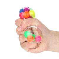 파인애플 스트레스 포도 공 무독성 색상 감각 장난감 사무실 스트레스 압력 스트레스 릴리버 장난감 재미 있은 가제트 감압