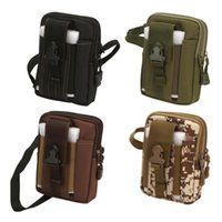 Outdoor Bags Tactical Molle Waist Pack Cell Phone Bag Multi-pocket Pouch Belt Case Running Camping Tools Carrier Bumbag