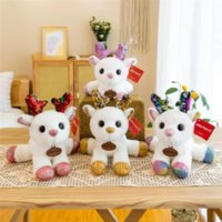 Colorful deer plush toy doll party wedding tossing small dolls company annual meeting event gift children gifts