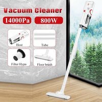 Becornce 800W 14000Pa Handheld Vacuum Cleaner Intelligent All-surface Brush All In One Dust Collector Floor Carpet Aspirator Cleaners