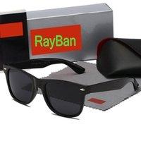고품질 레이 남자 여성 편광 된 선글라스 빈티지 파일럿 웨이 포러 브랜드 태양 안경 UV400 상자 상자 및 케이스 2140