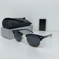 Luxus Neue Marke Polarized Designer Sonnenbrille Herren Frauen Pilot Sonnenbrille UV400 Eyewear Gläser Metallrahmen Polaroidobjektiv Sonnenbrille mit Box