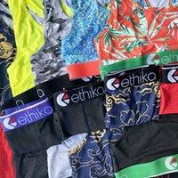 Ethika Boxers Kadın Eşofman Beachwear Bikini Kadın 2 Parça Set Yelek Tank Bras Mayo Plaj Tulum Köpekbalığı Ekose Yüzme Suits Rastgele