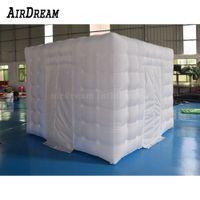 Хорошее качество реклама надувная палатка кубика, надувная фото стенд фотобета с полным светодиодом для вечеринок свадебное событие