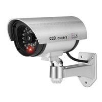 Kameralar Jooan Açık Kukla Kamera Gözetim Kablosuz LED Işık Sahte Ev CCTV Güvenlik Simüle Video
