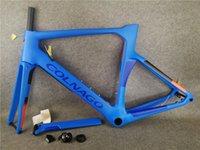 T1100 UD Matte brillant bleu avec le concept noir Colnago concept Disque Carbon Road Cadres Framet Vélo Cadre de vélo de route 45/48/50 / 52/54 / 56cm