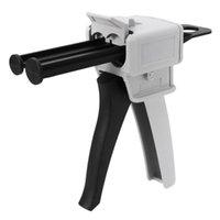 مدافع الغراء دليل المسدس بندقية موزع 50ML 2 مكون AB إبوكسي مانع التسرب قضيب مخلفا الضغط مختلط 1: 1 2: 1