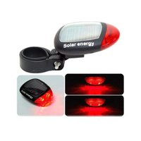 Bike Lights Light Solar Powered LED Rear Flashing Tail For Bicycle Cycling Lamp Safety Warning Flash Accessories