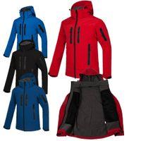Özelleştirilebilir erkek Kamp Yürüyüş Spor Ceket Rüzgarlık Yumuşak Kabuk Açık Spor Coat Giyim En Kaliteli