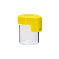 Imballaggio bottiglia ingranditore Stash Jars LED LED 155ml Caso di vetro Caso di vetro DAB Jar Jar Herb Cream Contenitore Spesso