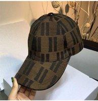 Vente Snapback Caps Bonnets Designer Trucker Chapeau Hommes Femmes Printemps Summer Brown Lettre Baseball Cap Fil Sauvage Casual Instronie Hip Hop Sun Hats