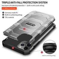 Explorer Military-grade Airbag Anti-fall Mobile Phone Case For Samsung S20 S21FE Note20