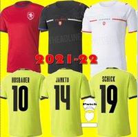 21 22 جمهورية التشيك لكرة القدم الفانيلة المنزل بعيدا 2021 سكودا سوسيك Jankto Husbauer قمصان Kaderabek كرة القدم موحدة تايلاند