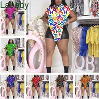 Women Blouses Designer Sexy Shirts Trend Printed Letters Top Personalized Wear Summer Shirt Plus Size Ladies Clothing S-5xl 7 Colours