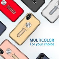 TPU PC hybrid shockproof car mounted military combo cases with kickstand for iphone 11 12 13 Pro Max XS XR 7 8 cell phone back cover