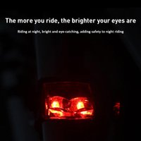 Bike Lights Bicycle Magnet Self-powered IPX-4 Waterproof LED Light Electromagnetic Induction Accessories