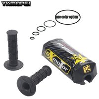 """Handlebars Motocross Motorcycles Handlebar Pads Pro Taper Energy Square 2.0 Fat Bar Pad With Grips For 1-1 8"""" Bars"""
