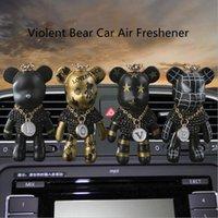 Neue Mode Trend gewalttätig Bär Parfümsaufbereiter Dekorative Legierung Auto Tyeure Lufterfrischer Clip Decora