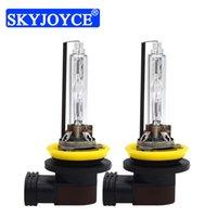 Skyjoyce Premium Xenon H11 AC 12V 5500K H11B Farol do carro lâmpada para 35W 55W Rápido brilhante HID Kit de Conversais