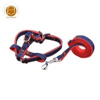 Petcircle Jean Pet Dog Leash Traction Rope Harness Collar For Small And Large Dogs Cats 3 Color Size S-XL Collars & Leashes