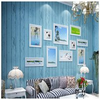 Wallpapers Youman Non-woven Fabric Retro Wallpaper Rolls Simple Cafe Clothing Store Desktop Decor Wall Paper Solid