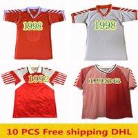Ретро Дания 1986 футбольные майки Ларсен Ольсен Лодруп Mölby Lerby Vintage 1992 1998 футбольная футболка Классический комплект