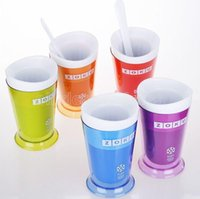 Hot Zoku Shou Shake Maker, autentici utensili per gelato fatti in casa, tazza di gelato, tazza creativa cm26