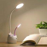 Buchlichter Schreibtischlampe Eye Mini USB LED-LED-Lesestift Handyhalter für Kinder College Student Dortige Lernen