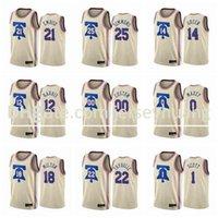 Basketbol Formaları \ RPHiladelphia \ R76ers Ben Simmons Joel Embiid Tobias Harris Danny Yeşil Herhangi bir Oyuncu Özel Formalar