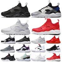2021 Huarache 4.0 رجلجريأحذية des chaussures huaraches الثلاثي الأسود الأبيض الأحمر الأرجواني الرياضة الرجال النساء المدربين في الهواء الطلق أحذية رياضية المشي الركض