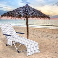 Chair Covers Beach Cover Towel With Side Storage Soft Absorbent Pool Chaise Lounge Sun Lounger For Outdoor Holiday