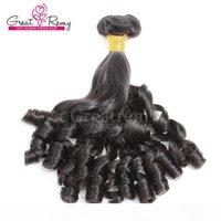 Крупный? Эстементы от течения натуральные натуральные волосы натуральный цвет бразильской человеческой девственницы