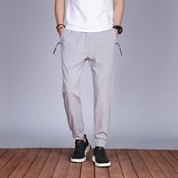 Nouveaux hommes causaux Baggy Pantalon confortable Pantalon Jogger Homme Printemps Summer Pantalon Causal Pantalons Sweatpants Streetwear