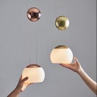 Chandeliers Nordic Glass Ball Crystal Chandelier Ceiling Led Light Hanging Lamp Modern Lamparas De Techo Colgante Moderna