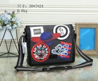 Мужские сумки для наплечных дизайнеров Crossbody Business Messenger Сумки для мужчин Змея Тигр Мода Повседневная PU Кожи Новый Горячий Salling