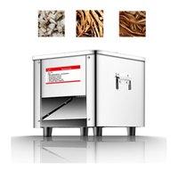 Elektrische Fleischschleifmaschine Machine Commercial Cutter Slicer Shredder Dicing vollautomatisch in Scheiben geschnitten