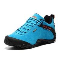 Hommes en plein air Chaussures Hikking Chaussures antidérapantes Escalier Trekking Trekking Chaussures de séance d'entraînement confortable Steonnières de randonnée imperméable 03