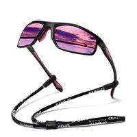 نظارات شمسية استقطاب الرجال النساء pochromic الرياضة في للرؤية الليلية النظارات الشاطئ الصيد السفر الملونة نظارات الشمس