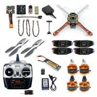 2.4G 8CH F450 F550 RC Racing Drohne Unassemble DIY Quadcopter FPV-Upgrade W / RADIOLINK Mini Pix M8N GPS-GPS-Hold-Modul Drohnen