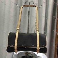 أكياس المصمم الفاخرة الأزياء والجلود و PVC السيدات الكتف حقيبة قطري الكلاسيكية إلكتروني زهرة تصميم عنصر محمولة محفظة