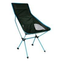 Chaise pliante portable extérieure 7075 Alliage d'aluminium Ultralight for Camping Pique-nique Voyage de pêche Haute Charge Lune Accessoires