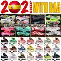 Мужские футбольные ботинки Mercurial Vapor14 XIV Elite FG ACC вязание футбольные туфли клейки CR7 RONALDO Red Green черный белый розовый синий желтый Multi с низкой обувью Botas de Futbol